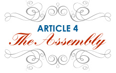 Article 4: The Assembly