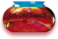 Disobedience IS Sin