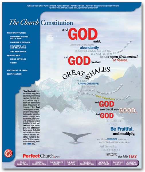 The Church Constitution Day 5 Poster - Alpha Series
